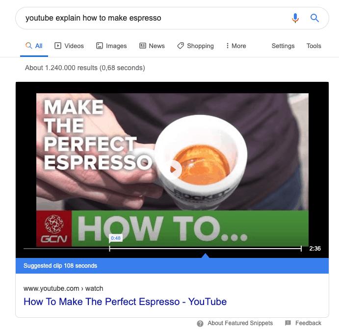 Structured data, hoe maak je een espresso